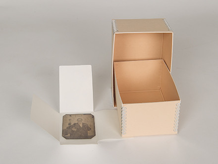 tintype env & box #4F23-NB