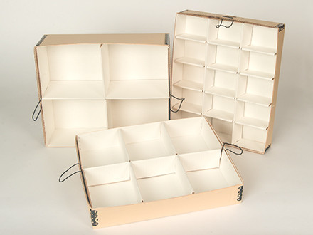 Partition trays