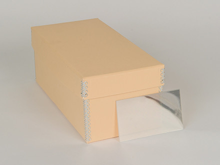 stereo card box