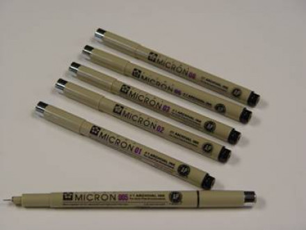 Pigma Pens set of 6