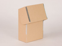 Hinged Lid Pamphlet and Magazine File Boxes