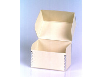 Microfiche Storage Boxes, Flip-Top Style