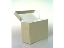 Corrugated Half-Width Record Storage Box