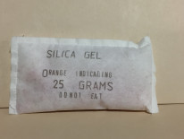 Silica Gel 25 gram packets