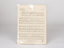 Polyester Sleeves for Sheet Music
