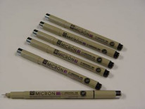 Pigma Pens set of 6